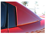 RKSport Saturn Ion Window Scoops; 2004-2010
