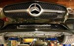 ProTEKt 15-19 Mercedes-Benz AMG GT/GT S Custom Fit Front Bumper Skid Plates; 2015-2019