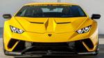 Vorsteiner Lamborghini Huracan Performante Vicenzo Edizione Aero Front Spoiler Carbon Matrix Glossy; 0-0
