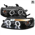 Spec-D Aveo 5dr Projector Headlights; 2004-2008
