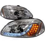 Spec-D 96-98 Honda Civic R8 Style Projector Headlights