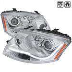 Spec-D Tuning Audi Tt Projector Headlight Chrome Housing; 1999-2006