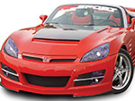 RKSport Saturn Sky Ram Air Hood; 2007-2010