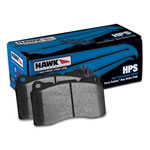 Hawk Audi A3 / A4 / A6 Quattro HPS Rear Brake Pads; 2006-2013