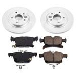Power Stop 17-19 Chrysler Pacifica Rear Z17 Evolution Geomet Coated Brake Kit; 2017-2019