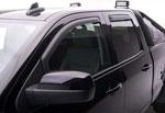EGR 14+ Chev Silverado/GMC Sierra Crw Cab In-Channel Window Visors - Set of 4 - Matte (571775); 2014-2020
