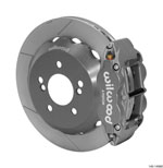 Wilwood Superlite 4R/ST Rear 12.88in Road Race Kit - Gray Hard Anodize 00-06 BMW M3 (E46); 2000-2006