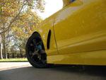 RKSport Camaro Fender ZO6 Style Include ZO6 grille Driver Side; 2010-2014