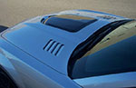 RKSport Camaro V8 Heat Extractor Hood - Fiberglass; 2010-2013
