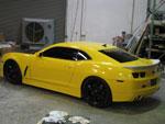 RKSport Camaro 3-Piece Trunk Spoiler - Urethane; 2010-2013