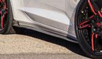 RKSport Camaro Carbon Fiber Side Skirts; 2016-2018