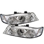 Spyder Honda Accord 94-97 1PC Halo Projector Headlights - Chrome
