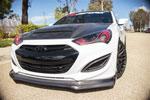 RKSport Genesis Coupe Genesis Coupe Front Lip; 2013-2016