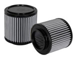 aFe MagnumFLOW OE Replacement Filter w/ Pro Dry S Media (Pair) 04-16 Aston Martin DB9 V12-6.0L; 2004-2016
