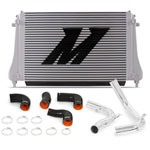 Mishimoto 2015+ VW MK7 Golf TSI / GTI / R Performance Intercooler Kit w/ Pipes (Polished); 2015-2020