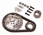 SLP Timing Chain, LS3/ZL415/ZL427 Double-Roller 3-Bolt Cam Gear; 2010-2013