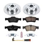 Power Stop 03-09 Mercedes-Benz E320 Rear Z23 Evolution Sport Brake Kit; 2003-2009