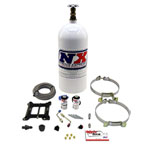 Nitrous Express Mainline Carb Nitrous Kit w/10lb Bottle; 0-0