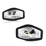 Xtune 09-18 Honda Fit LED License Plate Bulb Assembly White 5500K LAC-LP-HODY08 - Pair; 2009-2018