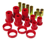 Prothane 84-88 Pontiac Fiero Front Control Arm Bushings - Red; 1984-1988