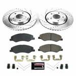 Power Stop 18-19 Honda Odyssey Front Z23 Evolution Sport Brake Kit; 2018-2019