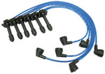 NGK Ford Taurus 1995-1989 Spark Plug Wire Set; 1989-1995