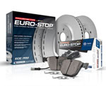 Power Stop 09-16 BMW Z4 Front Euro-Stop Brake Kit; 2009-2016