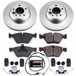Power Stop 09-16 BMW Z4 Front Z23 Evolution Sport Coated Brake Kit; 2009-2016