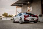 Vorsteiner BMW i8 VR-E Aero Rear Diffuser Carbon Fiber PP 1x1 Glossy; 2014-2017