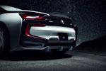 Vorsteiner BMW i8 VR-E Aero Ducktail Spoiler Carbon Fiber PP 2x2 Glossy; 2014-2017