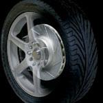 PowerSlot Rotors, Mustang GT & V6 FRONT L/R; 1994-2002