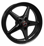 Race Star 92 Drag Star Bracket Racer 15x10 5x4.75BC 7.25BS Gloss Black Wheel; 0-0