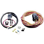 SPAL 185 Degree Thermo-Switch / Relay & Harness; 0-0