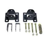 Wehrli 11-19 Chevrolet 6.6L Duramax Traction Bar Install Kit; 2011-2019