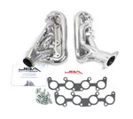 JBA 15-20 Ford Mustang 5.0L 1-3/4in Stainless Steel Silver Ceramic Shorty Header; 2015-2020