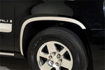 Putco 07-13 Chevy Avalanche - Full Stainless Steel Fender Trim; 2007-2013