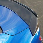Anderson Composites Camaro Carbon Fiber Spoiler Type-ST With Adj Wicker Bill; 2016-2018