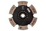 ACT 6 Pad Rigid Race Disc Mazda Protege ES 2L; 1995-2003