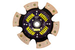 ACT 6 Pad Sprung Race Disc Nissan 350Z Enthusiast 3.5V; 2003-2009