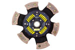 ACT 6 Pad Sprung Race Disc Chevrolet Corvette Base 6.2V; 1970-2013