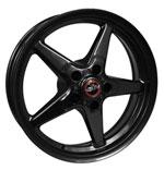 Race Star 92 Drag Star Bracket Racer 17x4.5 5x4.75BC 1.75BS Gloss Black Wheel; 0-0