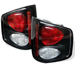Spyder Chevrolet S10 / GMC Sonoma / Isuzu Hombre Euro Style Tail Lights - Black - (ALT-YD-CS1094-BK); 1994-2004