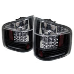 Spyder Chevrolet S10 / GMC Sonoma / Isuzu Hombre LED Tail Lights - Black - (ALT-YD-CS1094-LED-BK); 1994-2004