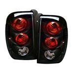 Spyder Trailblazer Altezza Tail Lights - Black - (ALT-YD-CTB02-BK); 2002-2009