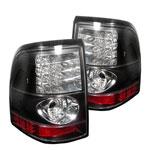 Spyder Mercury Mountaineer LED Tail Lights - Black - (ALT-YD-FEXP02-LED-BK); 2002-2005