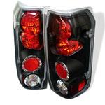 Spyder Ford Bronco Altezza Tail Lights - Black - (ALT-YD-FF15089-BK); 1988-1996
