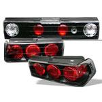Spyder Honda CRX Altezza Tail Lights - Black - (ALT-YD-HCRX88-BK); 1988-1991