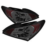 Spyder Hyundai Genesis LED Tail Lights - Smoke - (ALT-YD-HYGEN09-LED-SM); 2009-2011