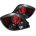 Spyder Hyundai Tiburon Altezza Tail Lights - Black - (ALT-YD-HYT03-BK); 2003-2005
