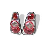 Spyder Mini Cooper / Cooper Convertibles Altezza Tail Lights - Black - (ALT-YD-MC02-C); 2002-2006